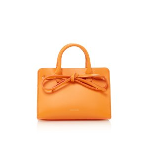 Calf Mini Mini Sun Bag by Mansur Gavriel