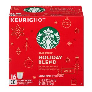 Keurig® Starbucks® Holiday Blend 16-ct. K-Cup Pods Variety Pack