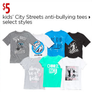 City Streets for Kids - JCPenney