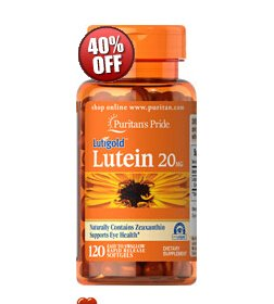 6 for $16.92 + Extra 17% off sitewideLutein 20 mg with Zeaxanthin