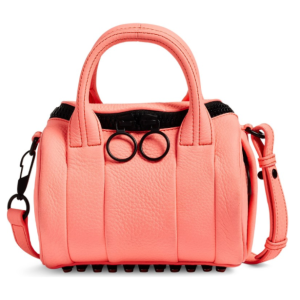 Alexander Wang Mini Rockie Leather Satchel
