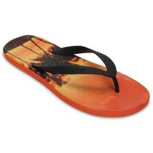 Chawaii Tropics Graphic Flip: Tropical Flip Flops