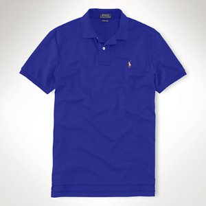 Classic Fit Soft-Touch Polo - Classic Fit   Polo Shirts