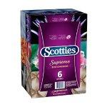 销量冠军!Scotties Supreme  3层面巾纸 - 6盒装