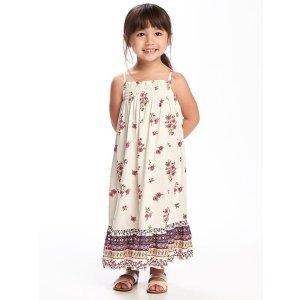 Smocked Maxi Dress for Toddler
