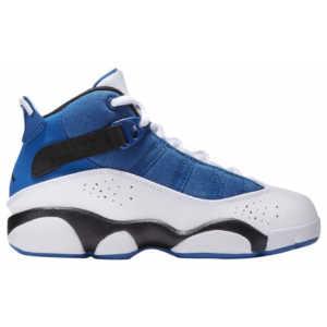 Jordan 6 Rings - Boys' Grade School - Basketball - Shoes - Team Royal/Black/White