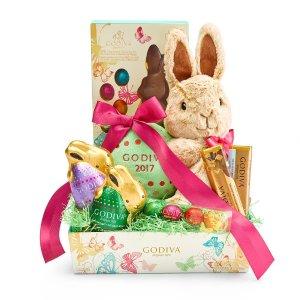 Shop Easter Gift Ideas - Easter Cheer Gift Basket at Godiva