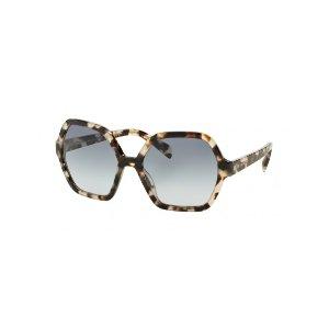 Prada White Tortoiseshell Sunglasses 'UAO4R2' | Unineed | Premium Beauty