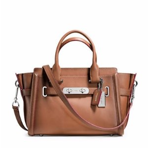 Swagger Leather Satchel