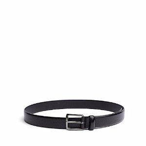 TAILORED COLLECTION EMBOSSED LEATHER BELT | Tommy Hilfiger