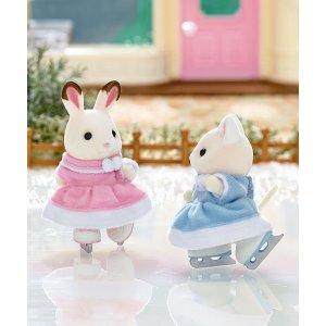 滑冰的小兔子
