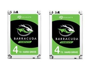2 X Seagate BarraCuda ST4000DM005 4TB 64MB Hard Drive