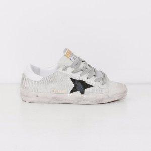 Golden Goose Superstar Sneakers in Grey Cord Gum
