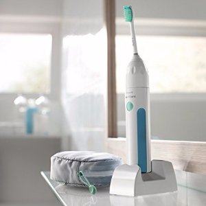$19.95 (Orig$49.99)Philips Sonicare Essence Sonic Electric Rechargeable Toothbrush, White, FFP