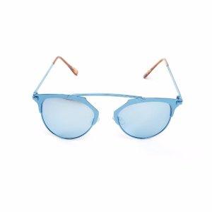 Taj Blue Metal Sunglasses   South Moon Under
