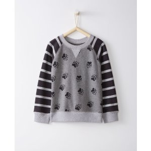 Mix It Up Sweatshirt In French Terry
