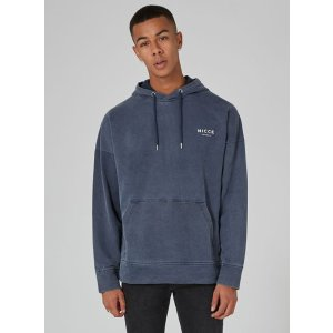 NICCE Navy 'Fort' Hoodie - New Arrivals - New In - TOPMAN USA