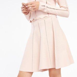 Elasticated Knit Skirt - Skirts - Sandro-paris.com