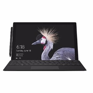 """$874Microsoft Surface Pro Bundle (Includes Type Cover, 12.3"""" Multi-touch, 7th-generation Intel Core i5, 256GB SSD, Windows 10 Pro)"""