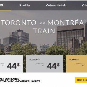 12月火车票低至$44起多伦多坐火车去蒙特利尔,舒适又便捷,去北美小巴黎过圣诞啦