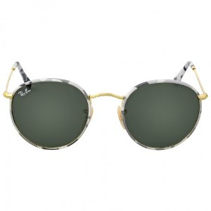 Ray Ban Round Camouflage Green Classic G-15 Sunglasses RB3447JM 171 50 - Round - Ray-Ban - Sunglasses - Jomashop
