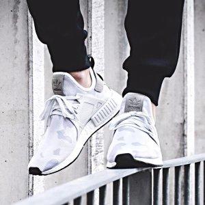 adidas Originals NMD XR1 - Men's - Running - Shoes - White/White/Black