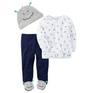 Baby Boy 3-Piece Little Rocket Babysoft Take-Me-Home Set | Carters.com