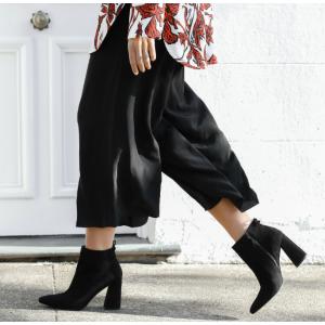 Grandiose Block Heel Booties - Shoes | Shop Stuart Weitzman
