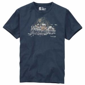 Timberland | Men's Beach Hut Graphic T-Shirt