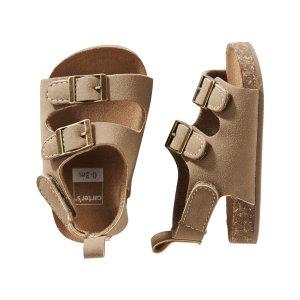 Carter's Buckle Sandal Crib Shoes | Carters.com