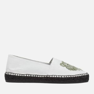 KENZO Women's Tiger Espadrilles - White - Free UK Delivery over £50