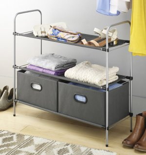 Whitmor Portable Closet Storage Organizer