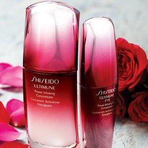 8.5折 + 免邮Shiseido 美妆护肤产品促销 收白胖子防晒和红腰子金华啦
