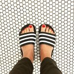adidas Originals Slide Sandals @ SSENSE