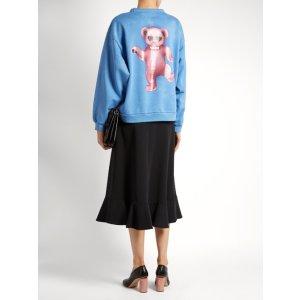 Fint Bear cotton sweatshirt | Acne Studios