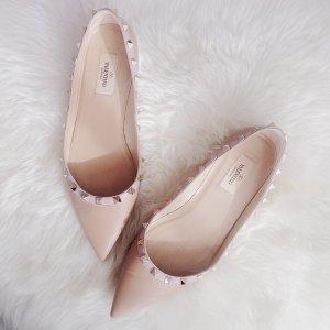 5折起 薰衣草紫铆钉鞋超美Valentino美鞋美包上新折扣区