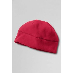 Kids' Solid ThermaCheck-100 Hat from Lands' End