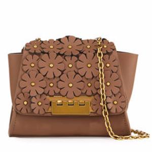 Eartha Mini Leather Crossbody Bag w/ Floral
