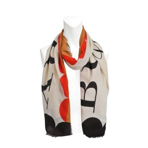 Patterned Burberry London England Scarf