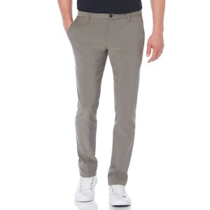 Slim Fit Twill Chino - Perry Ellis