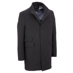 KENNETH COLE BUTTON FRONT WOOL JACKET
