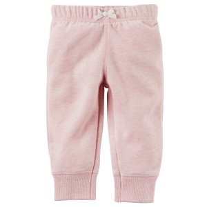 Brushed Back Fleece Pull-On Pants
