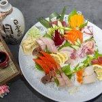 桥寿司(White Rock) 刺身拼盘、龙虾拼盘...精致日本料理,还有无敌海景