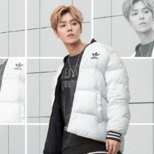 7折 + 免邮adidas Original 三叶草男士潮服特卖 收本季新款帽衫 羽绒服