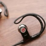 Factory Refurbished Powerbeats by Dr. Dre Black In-Ear Headphones