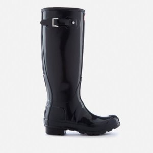 Hunter Women's Original Tall Gloss Wellies - Dark Slate