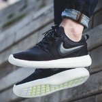 Nike Roshe Two Men's Shoes Sale (White Silver)