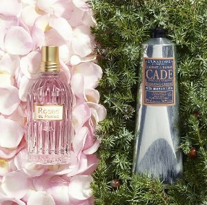 Free gifts with any $35Sitewide @ L'Occitane