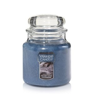 Warm Luxe Cashmere Medium Classic Jar Candles - Yankee Candle