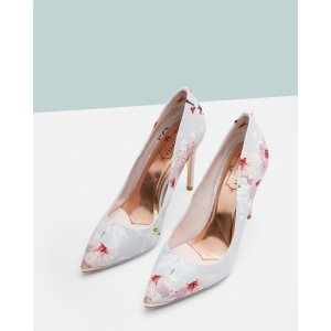 Printed pointed courts - Light Gray